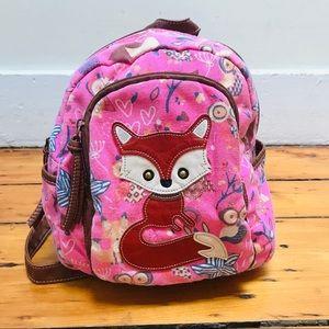 Chateau Fox & Owl Backpack - Pink